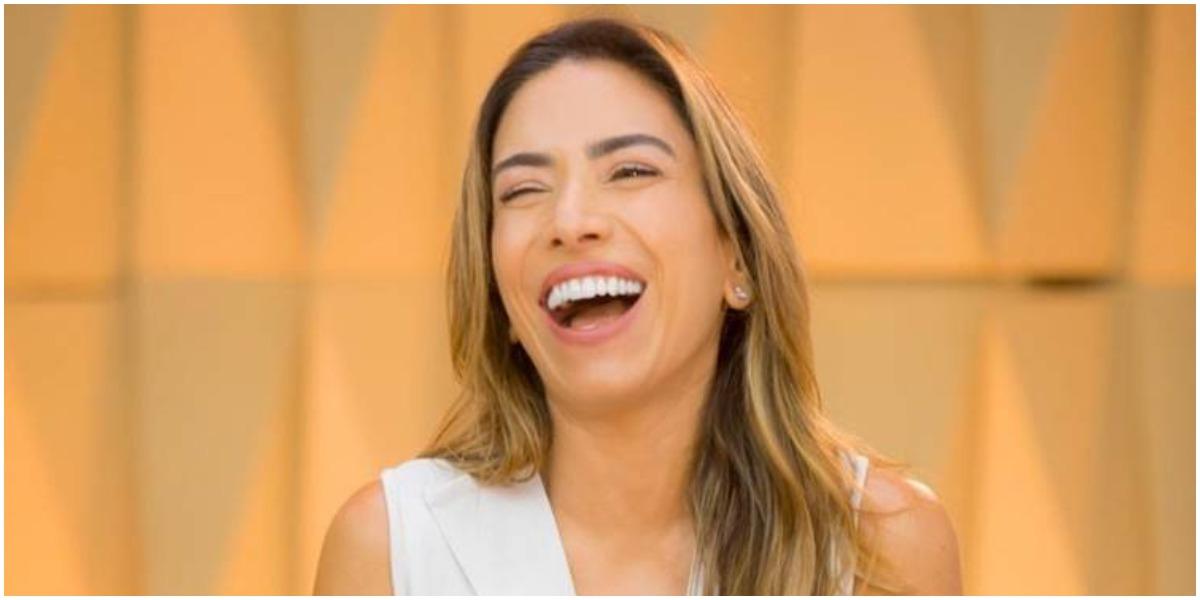 Patrícia Abravanel divulgou a data de estreia do Vem Pra Cá, seu novo programa no SBT (Foto: Reprodução)