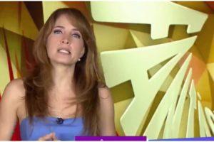 Poliana Abritta invadiu o Jornal Nacional da Globo - Foto: Reprodução