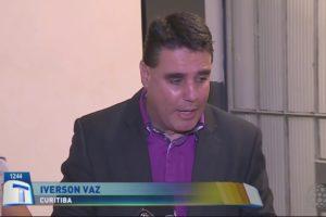 Iverson Vaz, repórter da Rede Massa, afiliada do SBT (Foto: Reprodução)