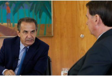Silas Malafaia e o presidente Jair Bolsonaro - Foto: Reprodução