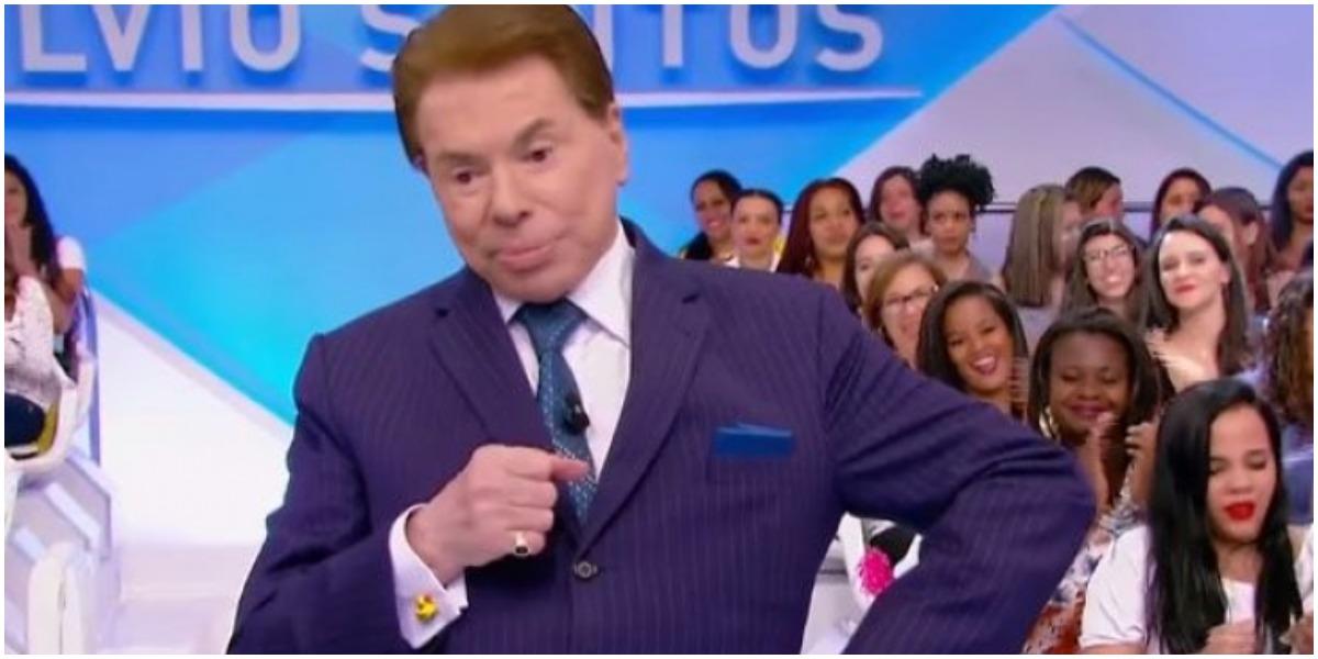 O apresentador Silvio Santos, dono do SBT - Foto: Reprodução