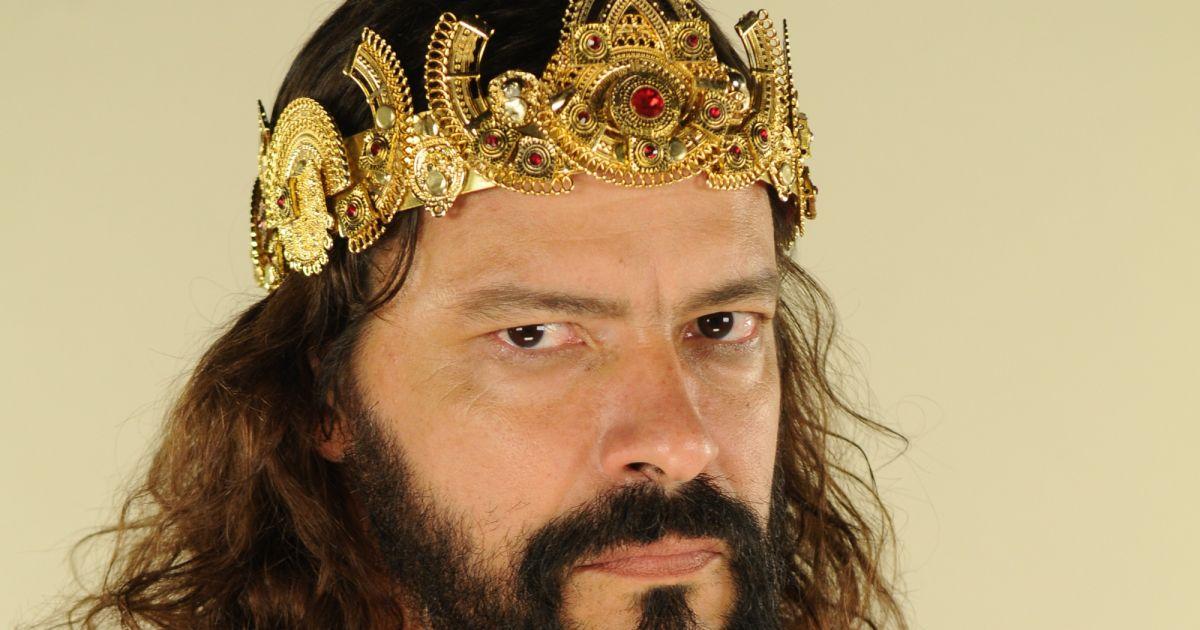 Heitor Martinez em trama bíblica da Record (© Divulgação, Munir Chatack/RecordTV) Gênesis