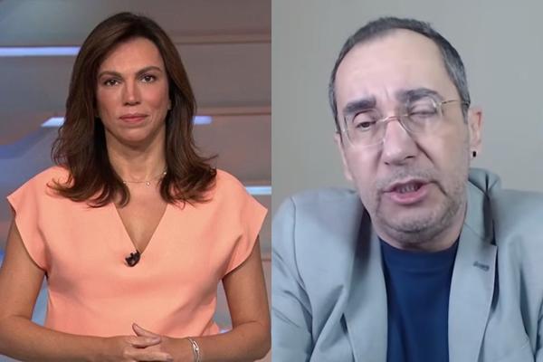 Kajuru e Ana Paula Araújo