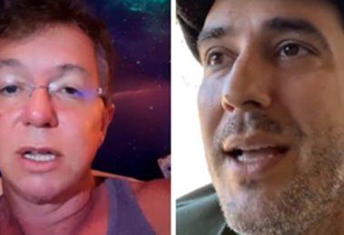 Boninho e André Marques (Imagem: Montagem/TV Foco)