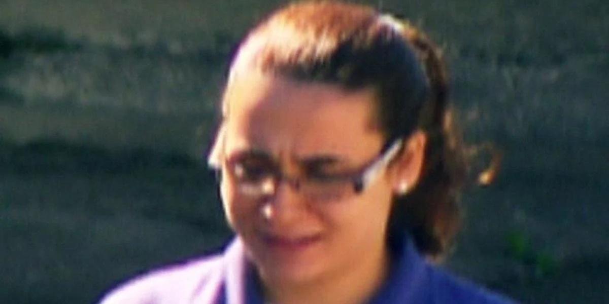 Anna Carolina Jatobá em foto recente em pátio do presídio (Foto: Reprodução)