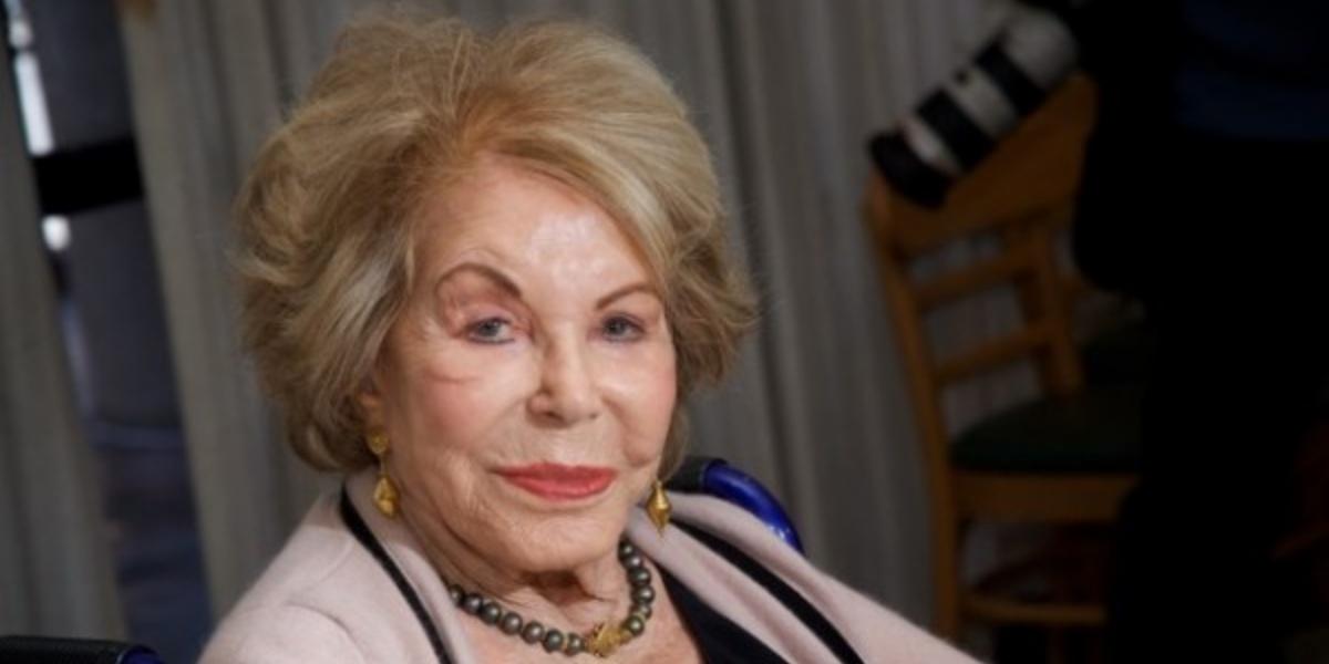 Anne Buydens morreu aos 103 anos de idade (Foto: Reprodução)