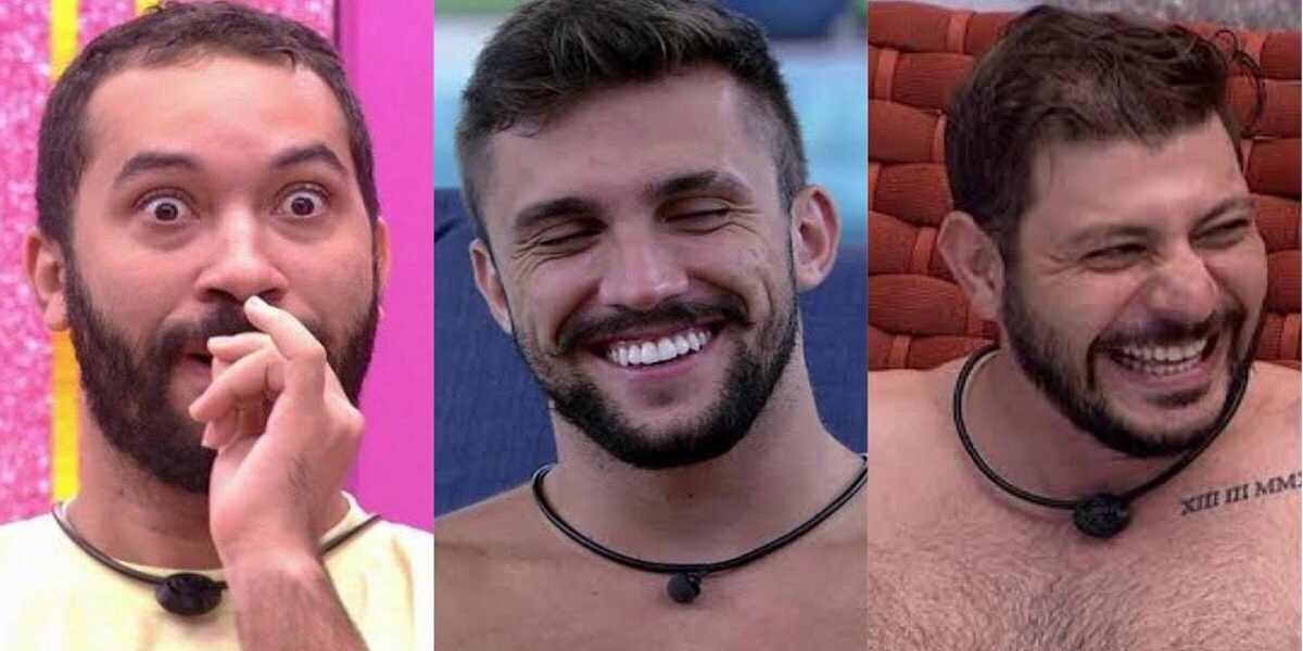 BBB21, Arthur, Gil, Caio