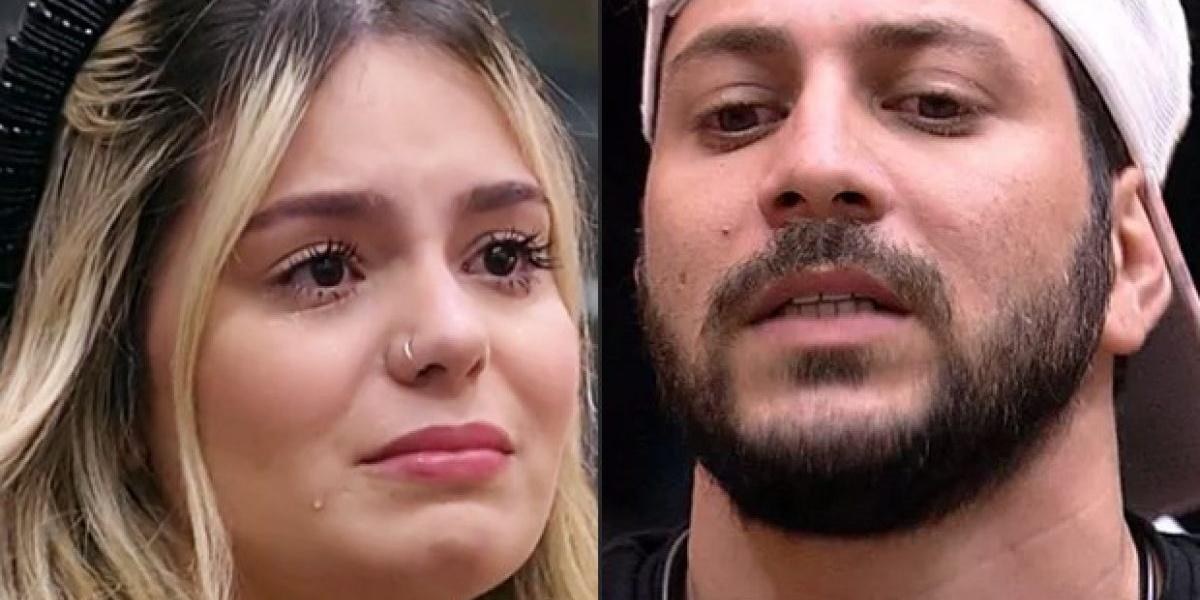 Caio confessou desejar ver Viih Tube no Paredão do BBB21 (Imagem: Montagem/TV Foco)