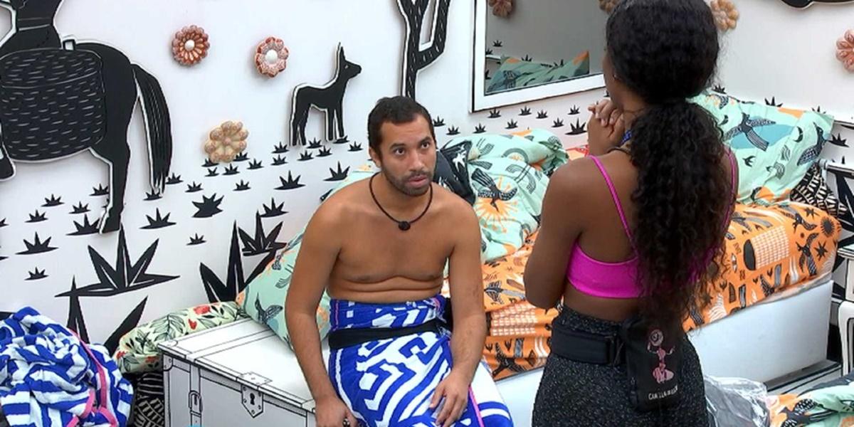 Camila de Lucas, Gilberto, BBB21