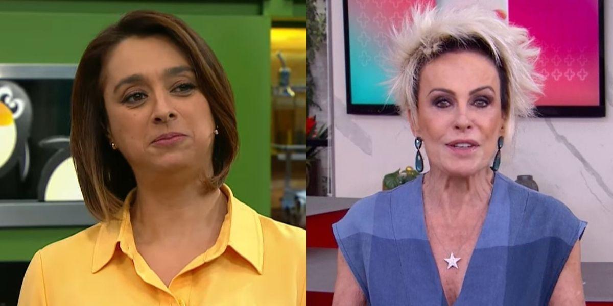 """Catia Fonseca interrompe programa, detona recado à Ana Maria ao vivo e explode em verdades: """"Fica fazendo lá"""""""
