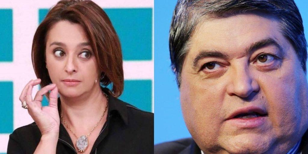 Catia Fonseca e Datena (Foto: Reprodução)
