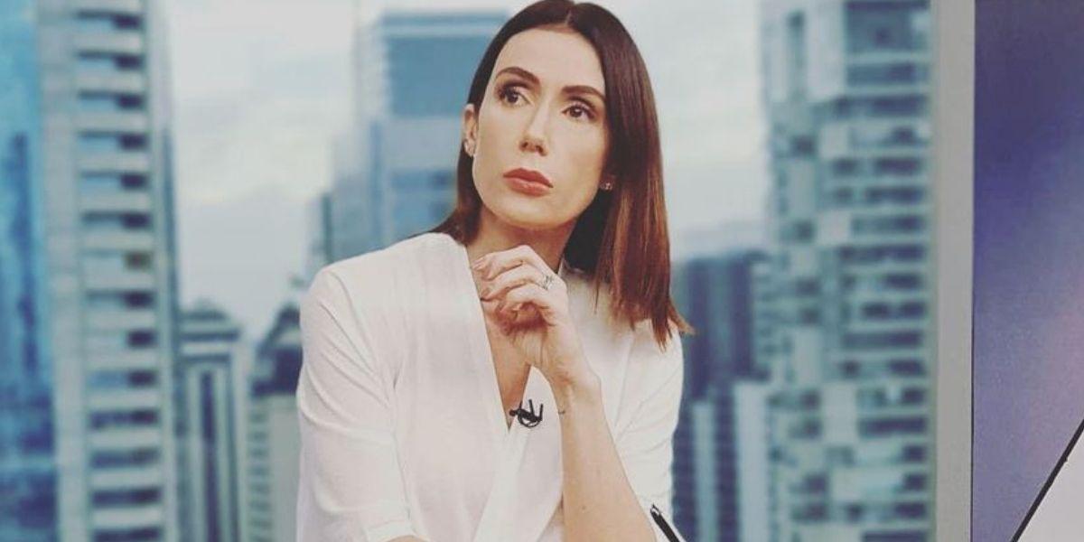 Michele Barros é interrompida ao vivo por gritaria na Globo (Reprodução)