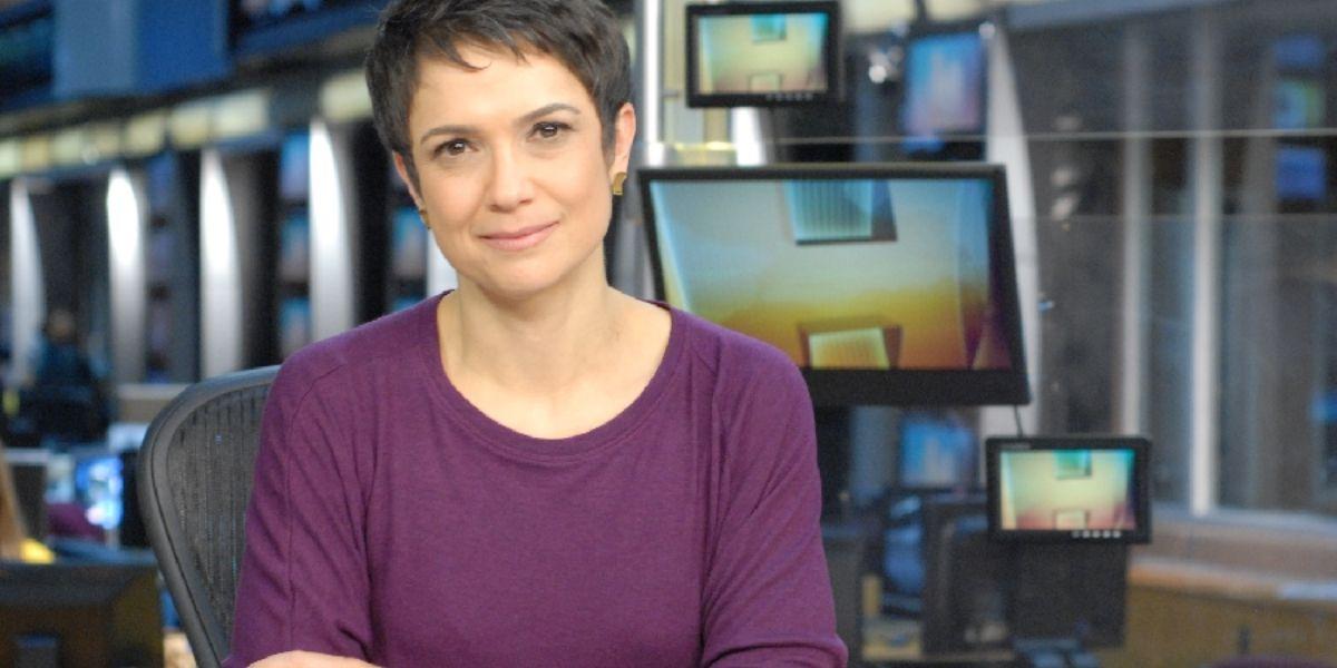 Sandra Annenberg (Reprodução: Globo)