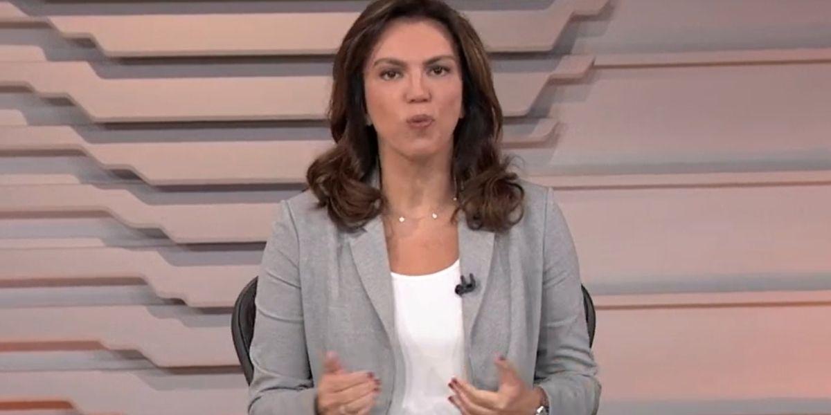 Ana Paula Araújo no Bom Dia Brasil (Foto: Reprodução/Globo)