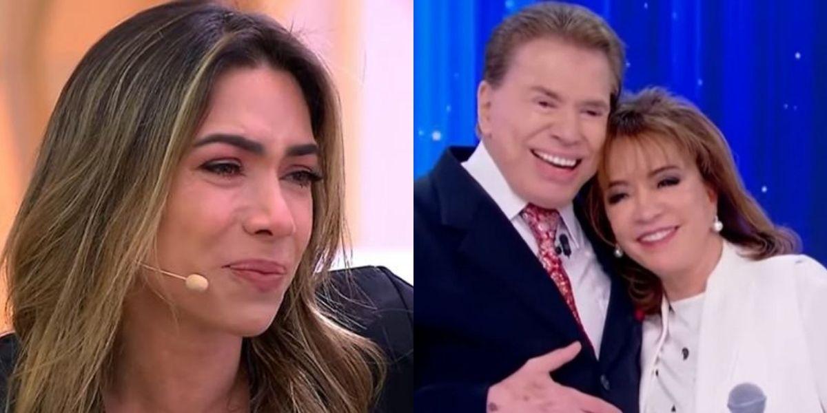 """Patrícia Abravanel confirma separação de Silvio Santos e Íris, cai no choro e desaba ao vivo: """"É muito triste"""""""