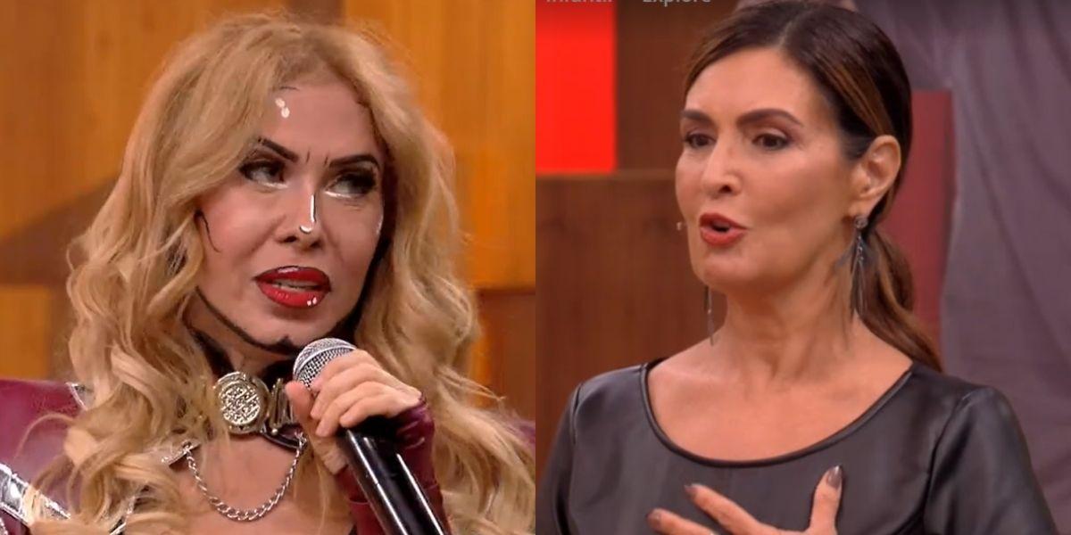 Joelma segura choro no palco e Fátima Bernardes acode, após filho detonar cantora e dizer que foi bloqueado