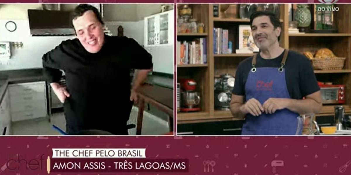 Edu Guedes no The Chef (Foto: Reprodução)