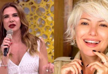 """Ex amigas? Luciana Gimenez processa Fontenelle em entrevista que Kajuru a chamou de """"garota de programa"""""""