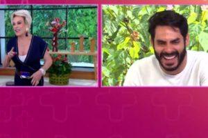 Ana Maria entrevistou Rodolffo no Mais Você (Foto: Reprodução)