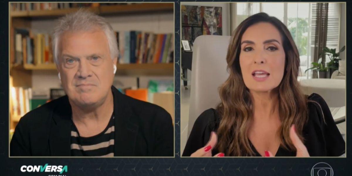 Fátima Bernardes e Pedro Bial (Reprodução: Globo)