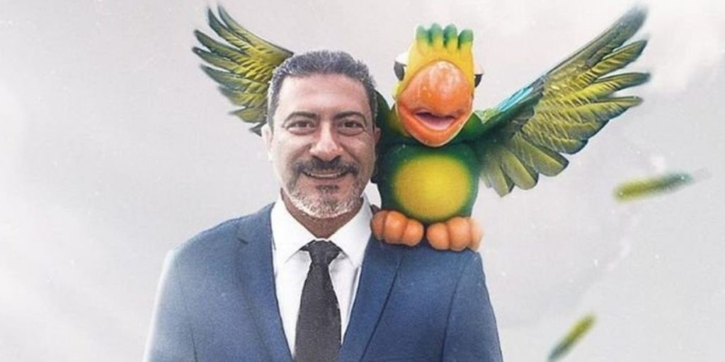 Tom Veiga e Louro José (Montagem: Átila Britto)