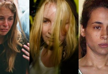 Suzane Von Richthofen, Elize Matsunaga e Anna Carolina Jatobá, responsável por matar Isabella Nardoni (Foto: Reprodução)