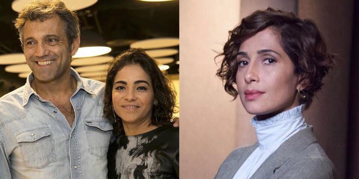 Domingos Montagner, Luciana Lima e Camila Pitanga (Reprodução)