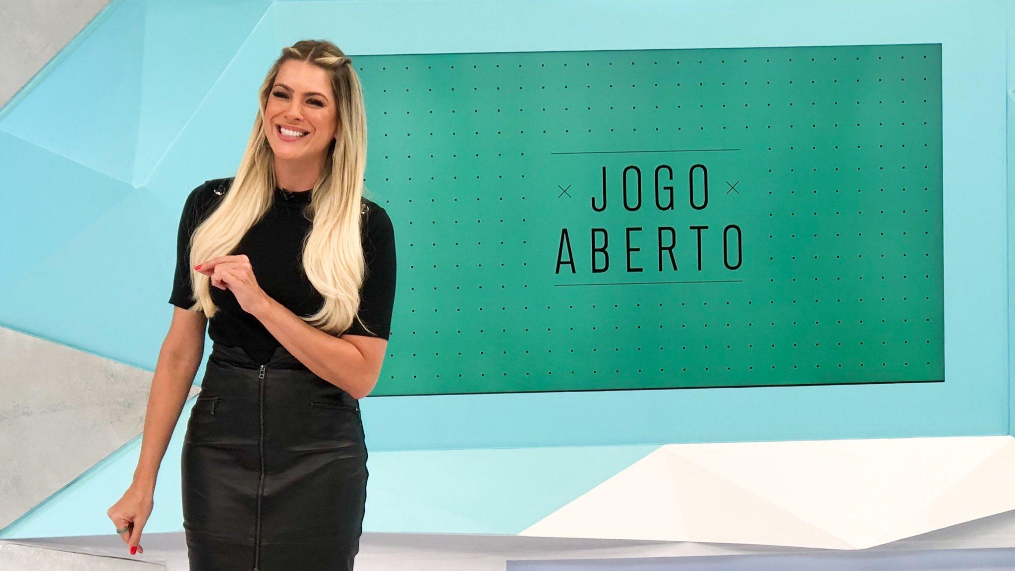 Renata Fan no Jogo Aberto, da Band (Reprodução)