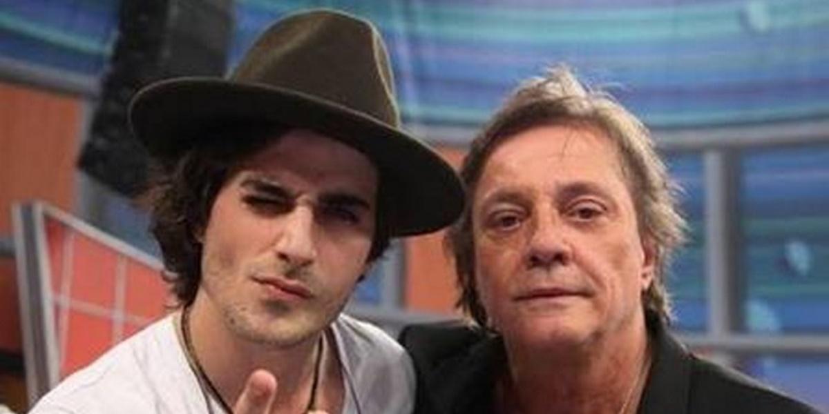 Fiuk e Fábio Jr. (Foto: Reprodução)