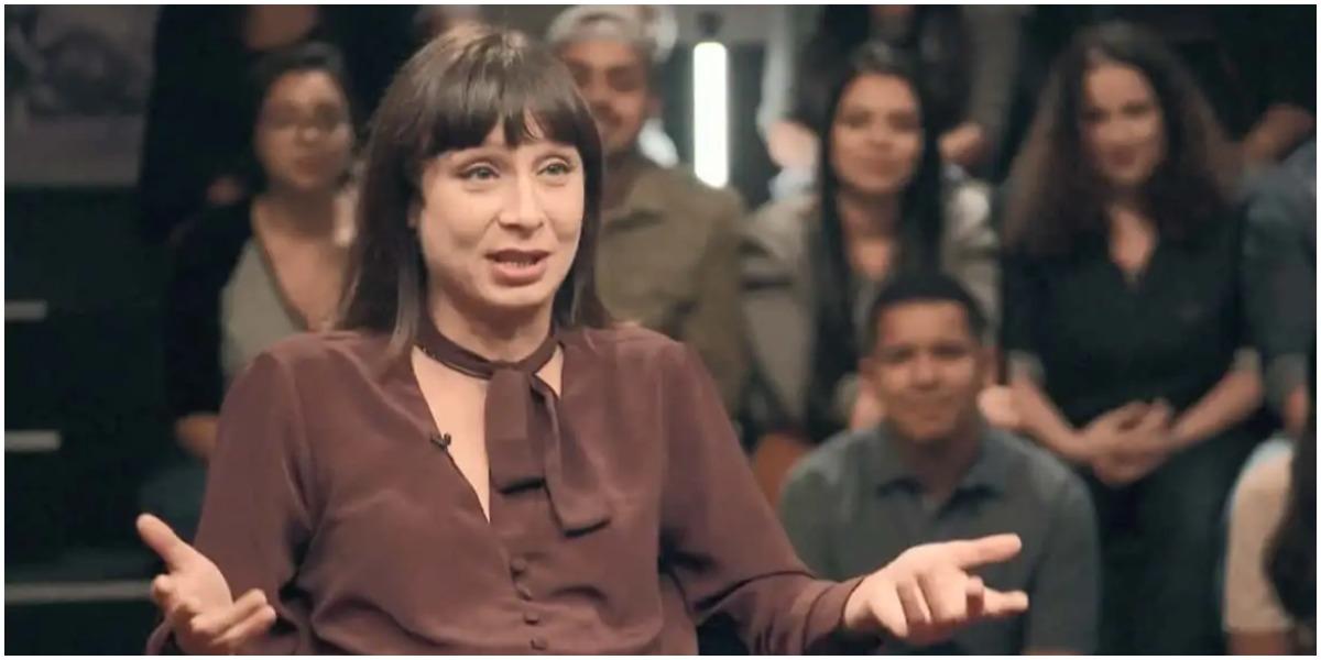 Katiuscia Canoro, que fez sucesso no Zorra Total como Lady Kate, foi recontratada pela Globo (Foto: Reprodução)