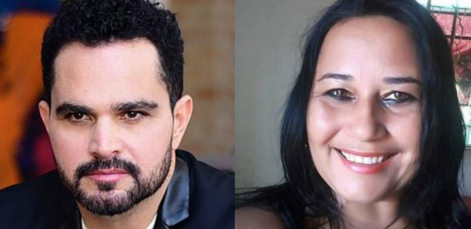 A polêmica entre Cleo Loyola e Luciano Camargo Foto(Reprodução)