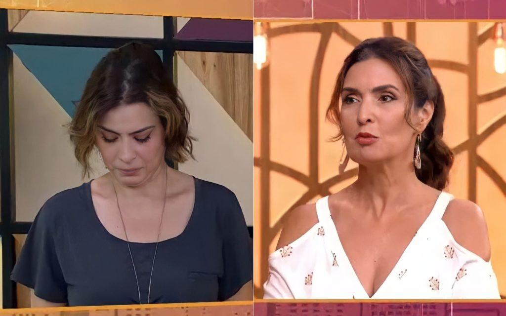 Michele Loreto ao lado de Fátima Bernardes