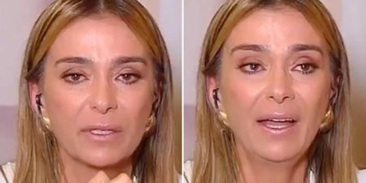 Mônica Martelli caiu no choro ao falar sobre Paulo Gustavo (Imagem: Montagem)
