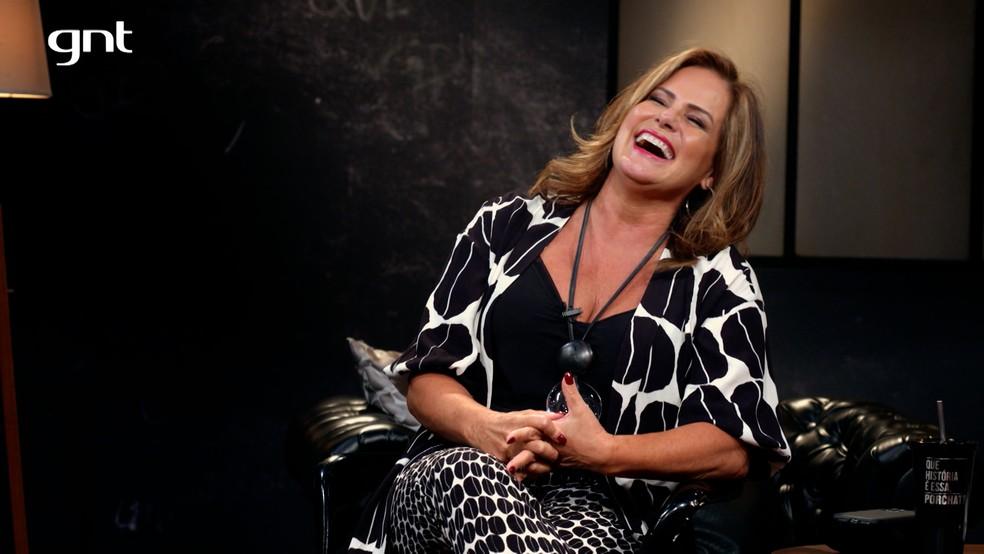 Renata Ceribelli em programa da GNT (Foto: Reprodução)