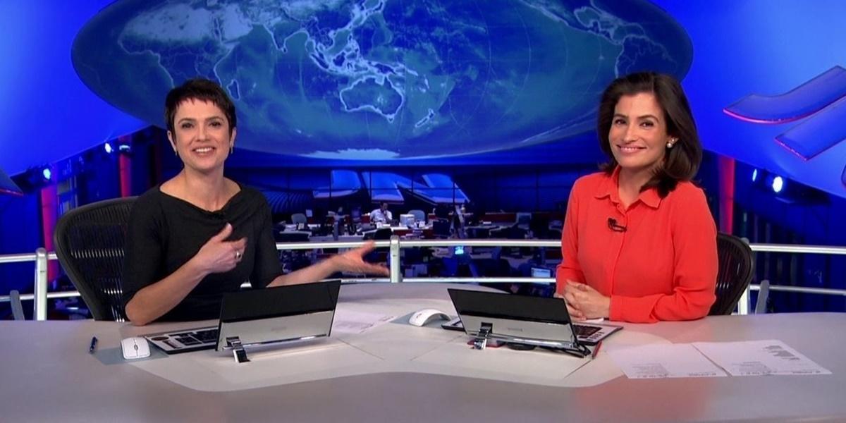 Renata Vasconcellos, Sandra Annenberg