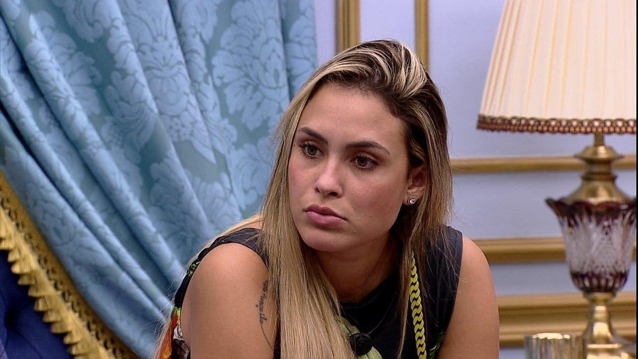Sarah admitiu ainda estar contra Juliette fora do BBB21 (Foto: Reprodução/ Globo)
