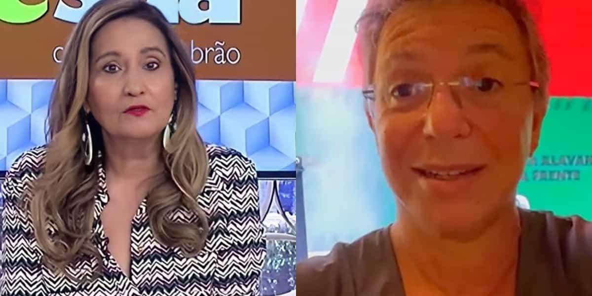 Sonia Abrão enviou presente para Boninho (Imagem: Montagem)