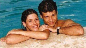 Valéria e Dinho, o casal apaixonado