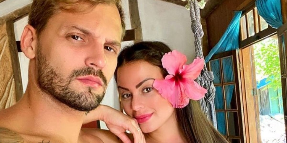 Victória Villarim e Paulo Rapuano não estarão mais no Power Couple da Record (Foto: Reprodução)