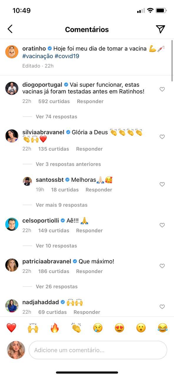 Ratinho recebe recado de família de Silvio Santos (Reprodução)
