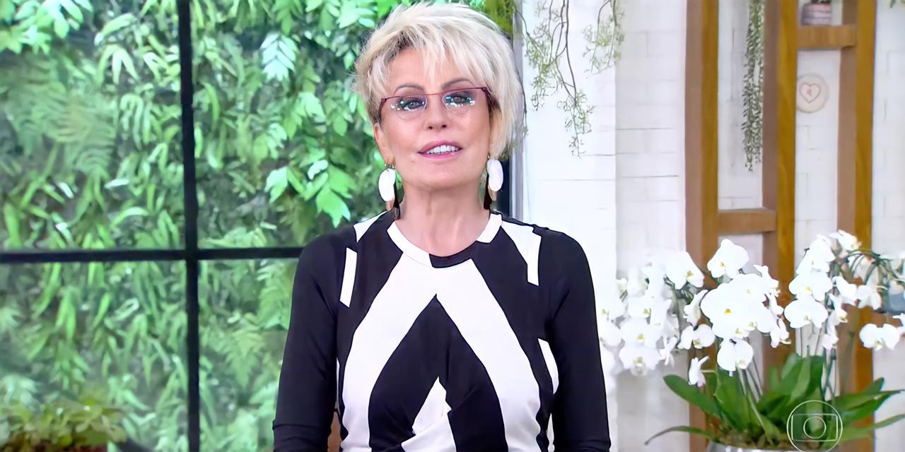 """Ana Maria durante programa """"Mais Você"""", da Globo, desta terça-feira, 27 (Reprodução)"""