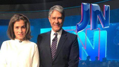 William Bonner, Renata Vasconcellos, Jornal Nacional