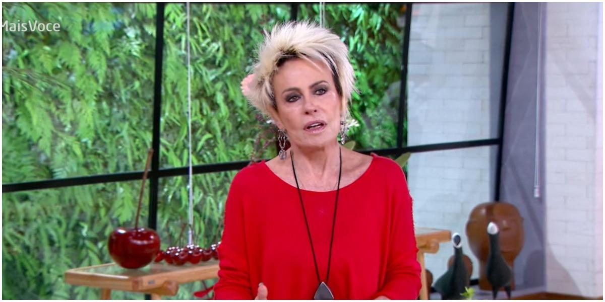A apresentadora Ana Maria Braga não quer saber de guerra - Foto: Reprodução