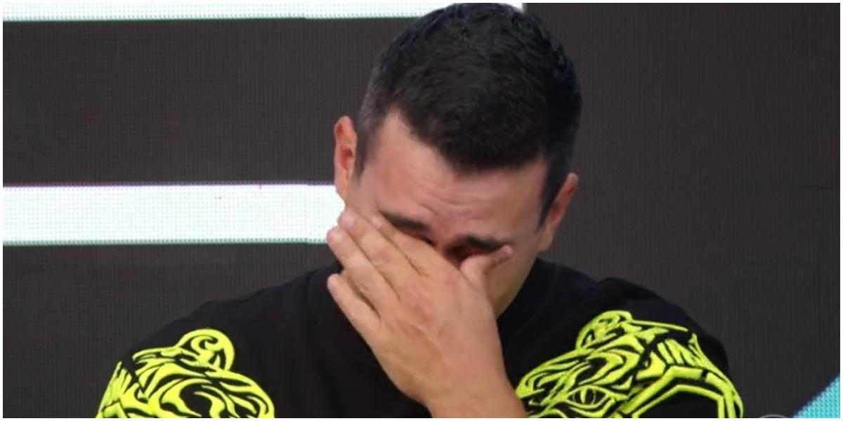 André Marques caiu no choro na Globo - Foto: Reprodução