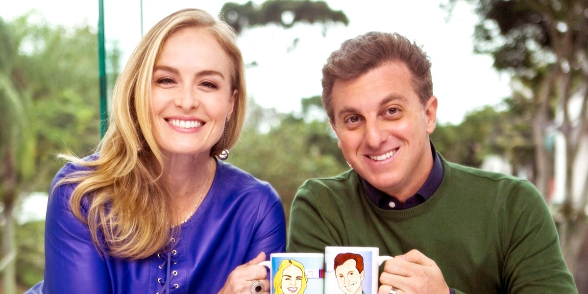 Angélica pode voltar a apresentar programas por causa de Luciano Huck (Foto: Reprodução/TV Globo)
