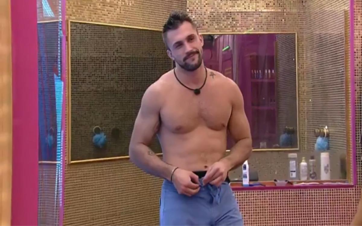 Arthur no BBB21 (Foto: Divulgação)
