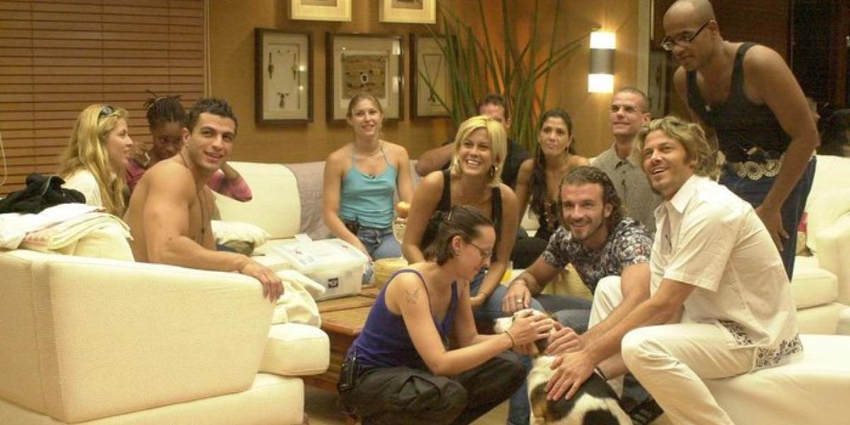 Participantes do BBB1 (Foto: Reprodução)
