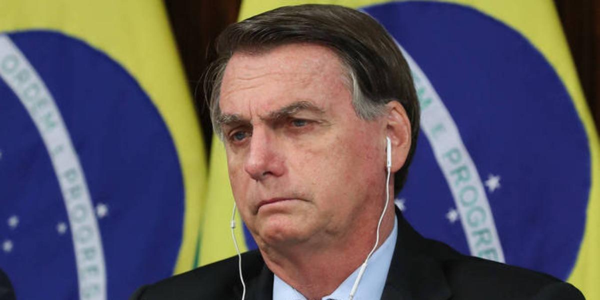 Bolsonaro ataca isolamento social no Brasil (Foto: Reprodução)