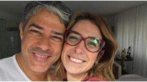 William Bonner e sua esposa, Natasha Dantas - Foto: Reproduçaõ