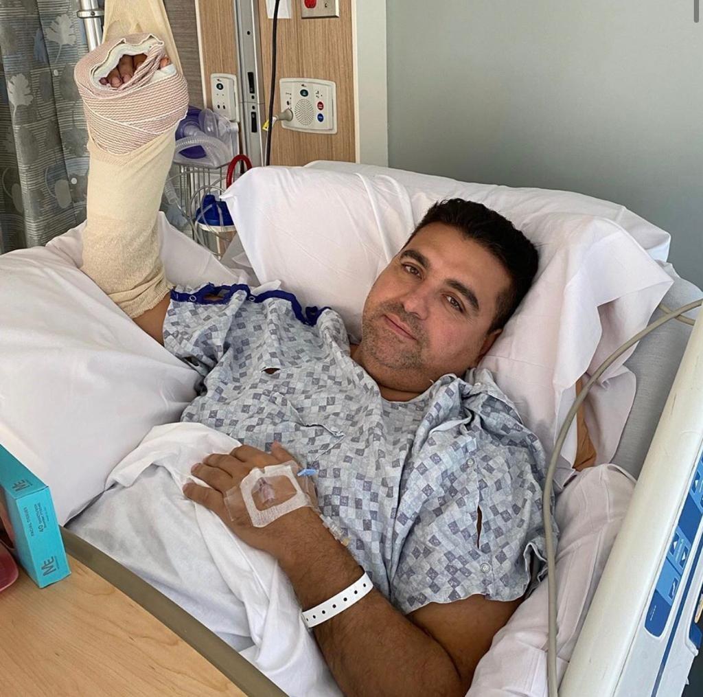 Apresentador do Cake Boss teve a mão mutilada durante acidente no programa (Foto: Reprodução)